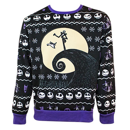 Pullover Nightmare before Christmas