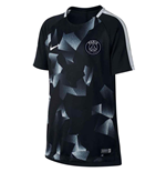T-Shirt Paris Saint-Germain 2017-2018 (Schwarz)