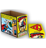 DC Comics Archivierungsboxen Superman Comic Panel 23 x 29 x 39 cm Umkarton (5)