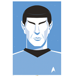 Poster Star Trek - Pop Spock - 50Th Anniversary - 61 x 91,5 cm.
