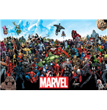 Poster Marvel Superheroes Marvel - Universe (Poster Maxi 61X91,5 Cm)