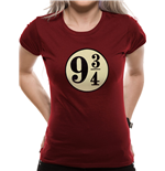 T-Shirt Harry Potter   - Platform 9 3/4s - Women Fitted T-shirt in rot