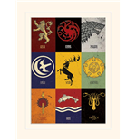 Kunstdruck Game of Thrones  279612