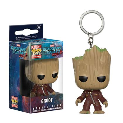 Schlüsselring Guardians of the Galaxy Groot Funko Pop