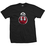 T-Shirt Star Wars Episode VIII BB-8 Resistance