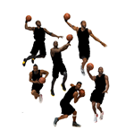 NBA Basketball Actionfiguren 15 cm Serie 31 Sortiment (8)