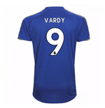 Trikot 2017/18  Leicester City F.C. 2017-2018 Home (Vardy 9)