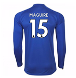 Trikot 2017/18  Leicester City F.C. 2017-2018 Home (Maguire 15)