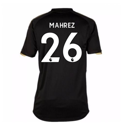 Trikot 2017/18  Leicester City F.C. 2017-2018 Away (Mahrez 26) Kinder