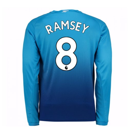 Trikot 2017/18  Arsenal 2017-2018 Away (Ramsey 8) Kinder