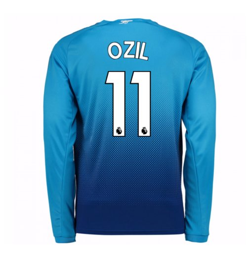 Trikot 2017/18  Arsenal 2017-2018 Away (Ozil 11) Kinder