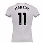 Trikot 2017/18  Manchester United FC 2017-2018 Third  (Martial 11) Frauen