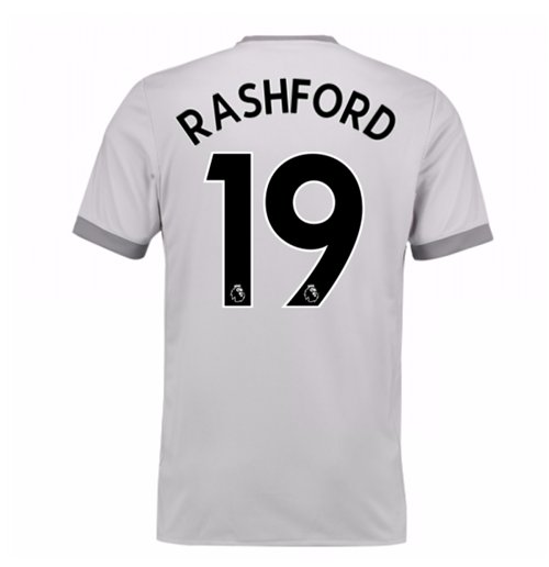 Trikot 2017/18  Manchester United FC 2017-2018 Third (Rashford 19)  Kinder