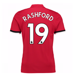 Trikot 2017/18  Manchester United FC 2017-2018 Home (Rashford 19)  Kinder