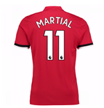 Trikot 2017/18  Manchester United FC 2017-2018 Home  (Martial 11)