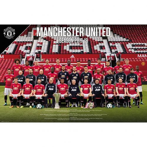 Poster Manchester United FC Squad 52
