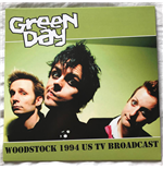 Vinyl Green Day - Muddy And Violent In Woodstock 94 - Fm Broadcast