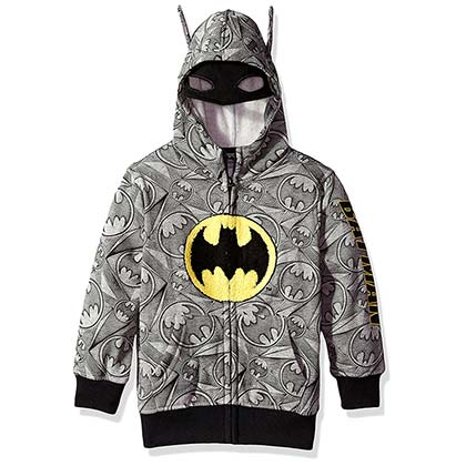 Sweatshirt Batman Big Boys Costume