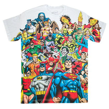 T-Shirt Superhelden DC Comics