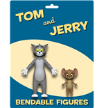 Tom & Jerry Biegefiguren 2er-Pack Tom & Jerry 6 - 15 cm