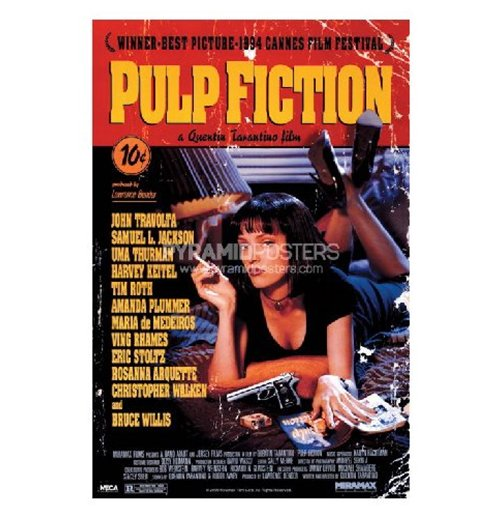 Poster Pulp fiction 282587