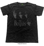 The Beatles T-Shirt für Männer - Design: Vintage Faces