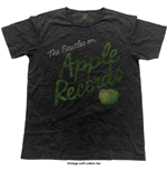 The Beatles T-Shirt für Männer - Design: Vintage Apple Records
