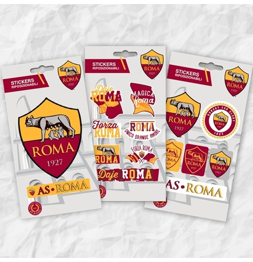 Aufkleber AS Roma Mini Stickers
