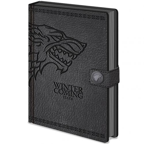 Notizbuch Game of Thrones Stark