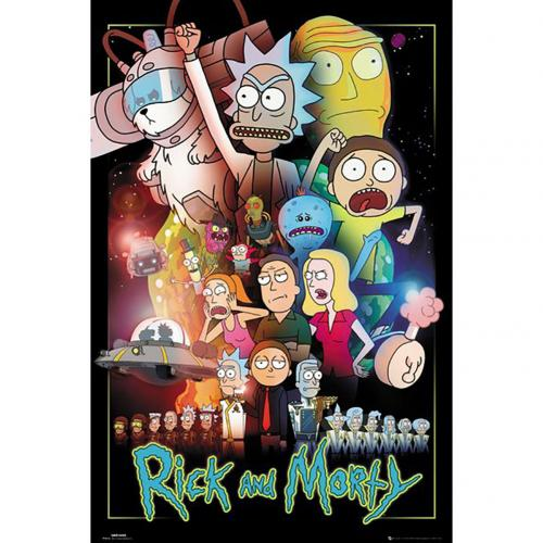 Poster Rick and Morty Wars 245