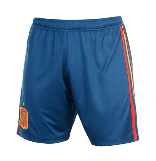 Shorts Spanien Fussball 2018-2019 Home (Blau)