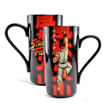 Street Fighter Latte-Macchiato Tasse Ryu