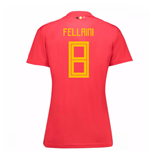 Trikot 2018/19  Belgien Fussball 2018-2019 Home Frauen (Fellaini 8)