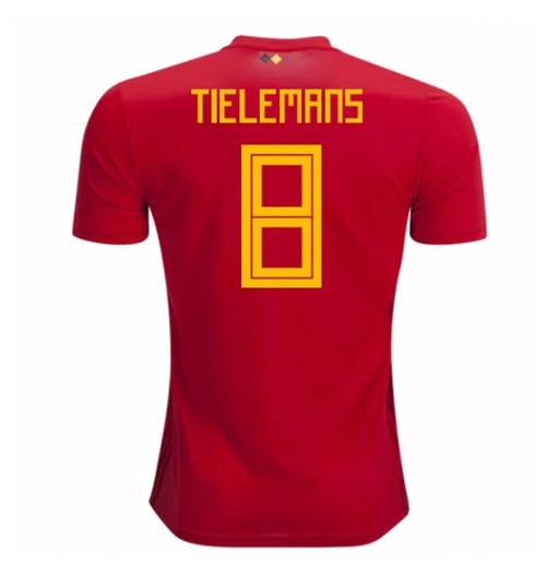 Trikot 2018/19  Belgien Fussball 2018-2019 Home (Tielemans 8) Kinder