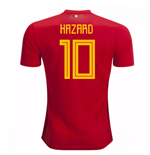 Trikot 2018/19  Belgien Fussball 2018-2019 Home  (Hazard 10) Kinder