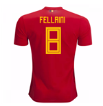Trikot 2018/19  Belgien Fussball 2018-2019 Home  (Fellaini 8) Kinder