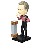Star Trek TNG Build-a-10-Forward Wackelkopf-Figur #2 Q 18 cm