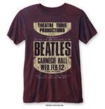 The Beatles T-Shirt für Männer - Design: Carnegie Hall