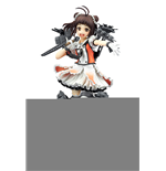 Kantai Collection PVC Statue Naka Kaini 20 cm