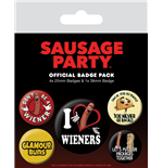 Brosche Sausage Party 286460