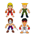 Street Fighter Action Vinyl Minifiguren 8 cm Wave 1 Display (16)