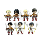 Attack on Titan Action Vinyl Minifiguren 8 cm Wave 1 Display (12)