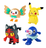 Pokemon Plüschfiguren 20 cm D18 Display (6)