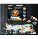 Game of Thrones 3D Puzzle Essos (1350 Teile)