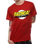Big Bang Theory T-Shirt - Design: Bazinga