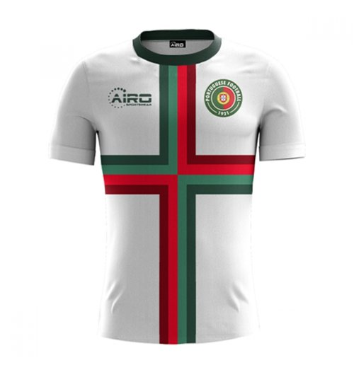 T-Shirt Portugal Fussball 2018-2019 Away Concept