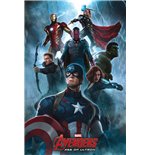 Poster Marvel Superheroes 288088