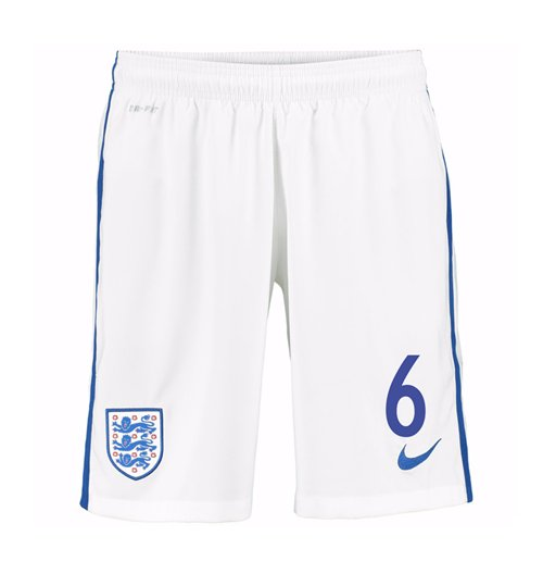 Shorts England Fussball 2016-2017 Home