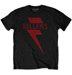 T-Shirt The Killers Red Bolt
