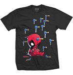 Marvel Superheroes T-Shirt für Männer - Design: Deadpool Suckers